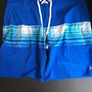Reel Legend Blue Swim Trunks Size 42